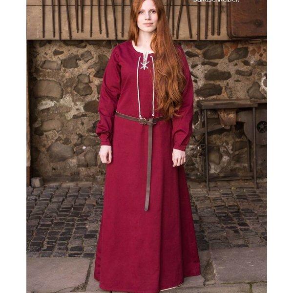 Burgschneider Mittelalterliches Kleid Cilie, Rot
