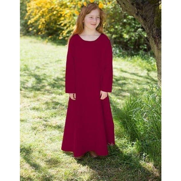 Burgschneider Mittelalterliches Kleid Ylvi, Burgunderrot