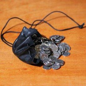 House of Warfare Mittelalterliche Geldbeutel schwarz