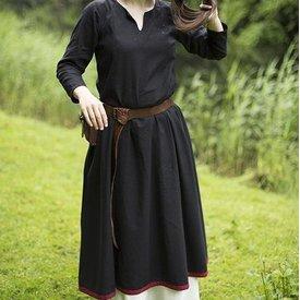 Epic Armoury Basic Kleid, Schwarz / Dunkel Rot