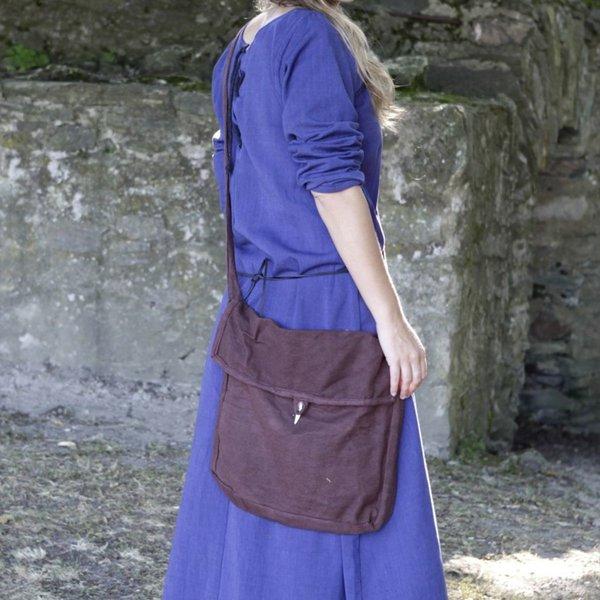 Burgschneider Mittelalterliche Tasche Ehwaz, Braun