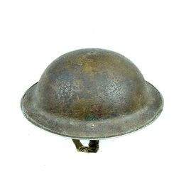 Canadian helmet with decal -  Royal Canadian Army Service Corps (RCASC)