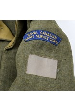Battledress of the Royal Canadian Army Service Corps (1940)