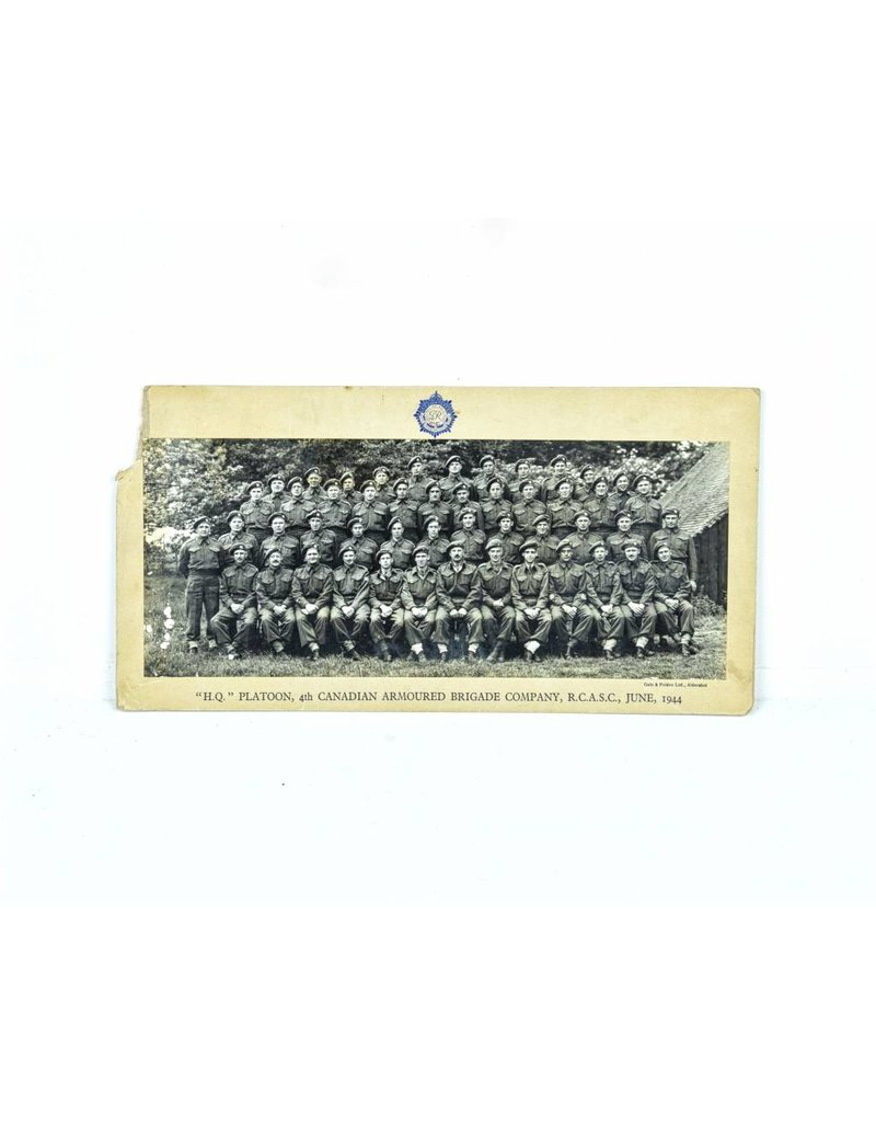 Foto  RCASC - 4th Canadian Armoured Brigade 1944