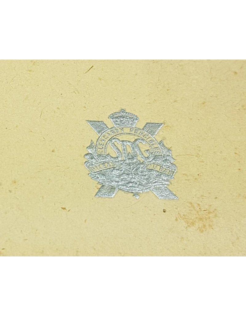 Canadian 'Stormont Dundas & Glengarry' Christmas card