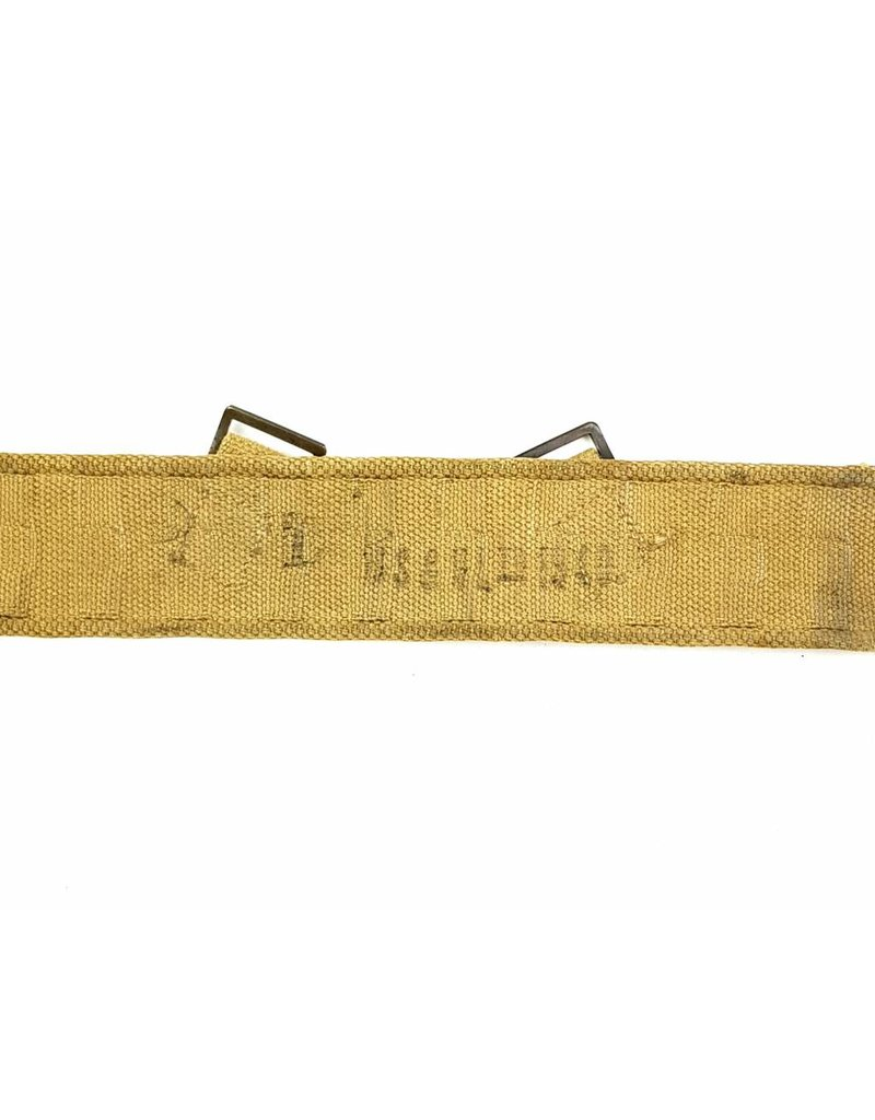 Canadian Web Belt 1940