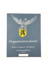 Poster 'Organisationsbrief Hitler-Jugend Flandern'
