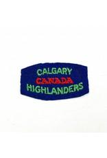 Calgary Highlanders of Canada Schoudertitel