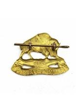 XII Manitoba Dragoons Capbadge