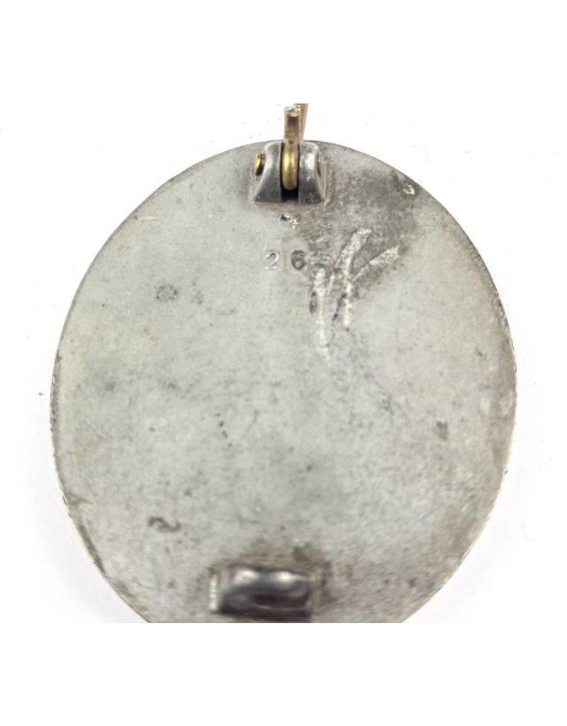 Verwundeten Abzeichen in Zilver '26'
