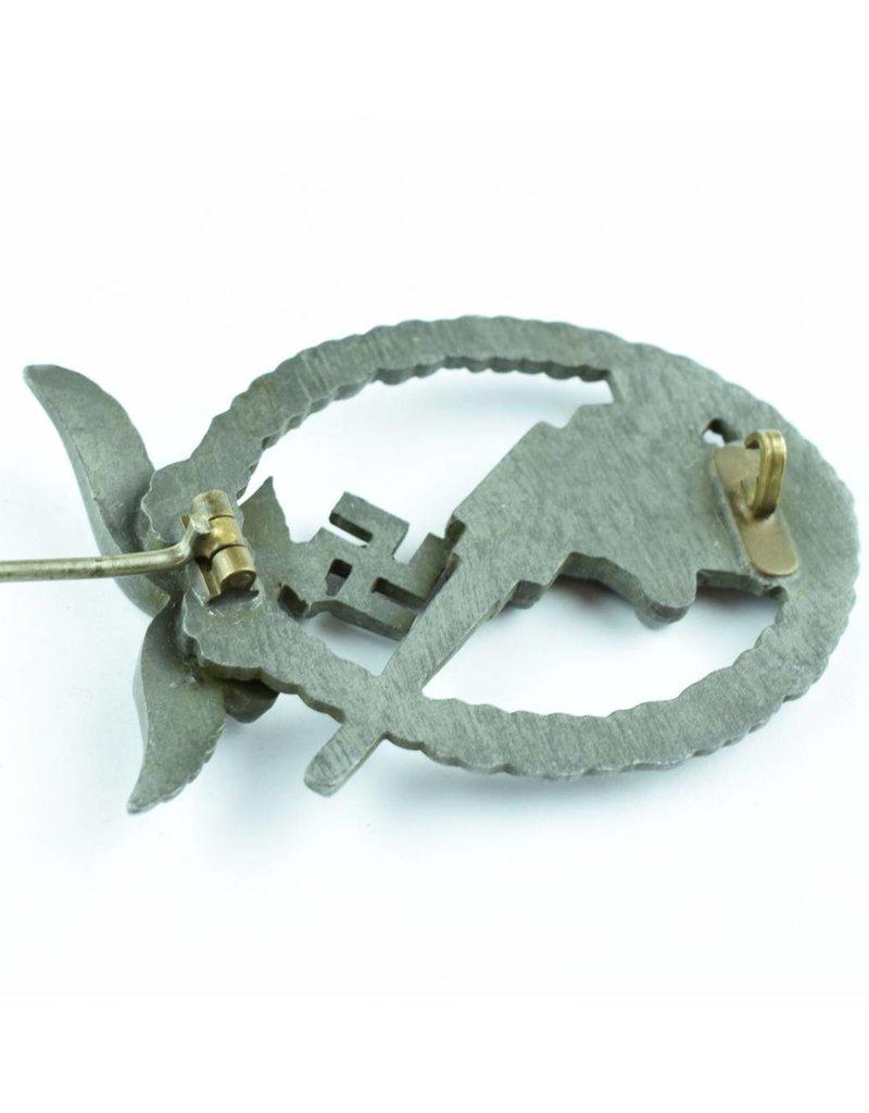 Luftwaffe Flakkampfabzeichen  S&L