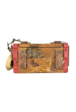 British WW2 Wooden Revolver Ammo Box
