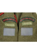 Battledress Queens Own Rifles - R.Hess