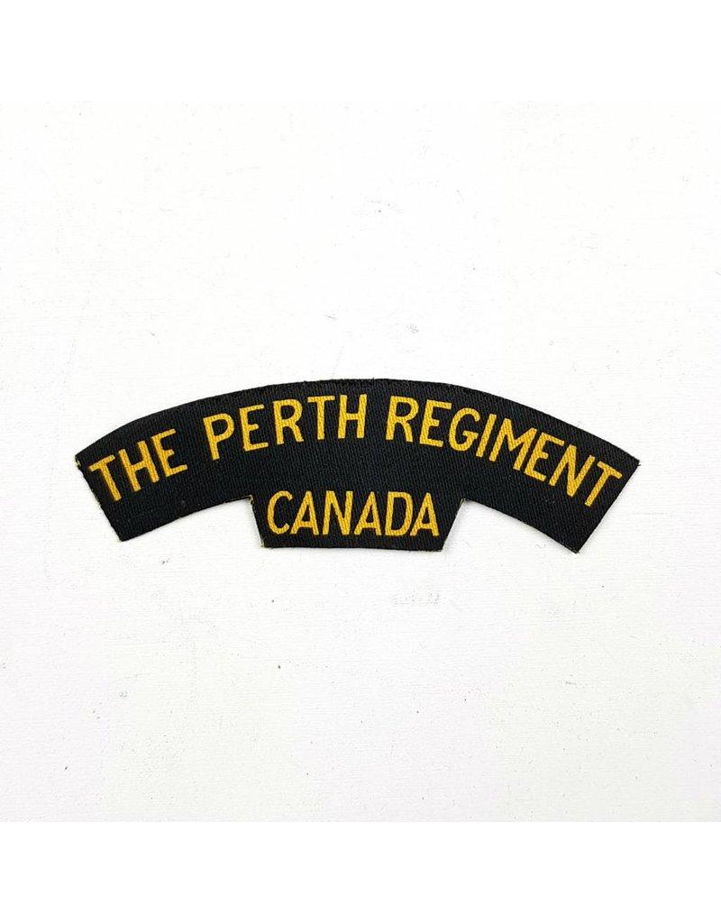 Perth Regiment Gedrukte Titel