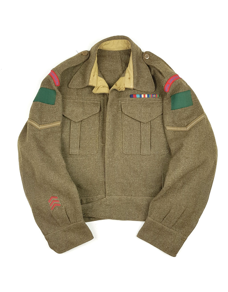 Battledress RCE - 4th Canadian Armoured Div.