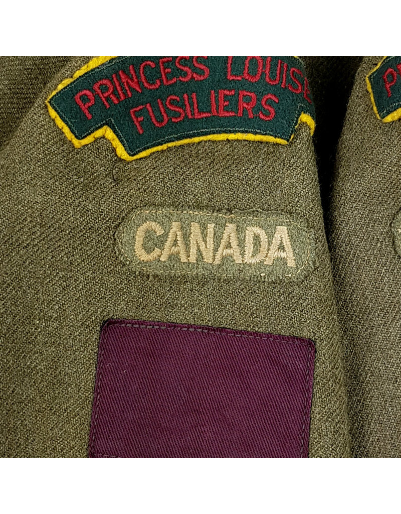 Battledress Princess Louise Fusiliers - 5th CAD