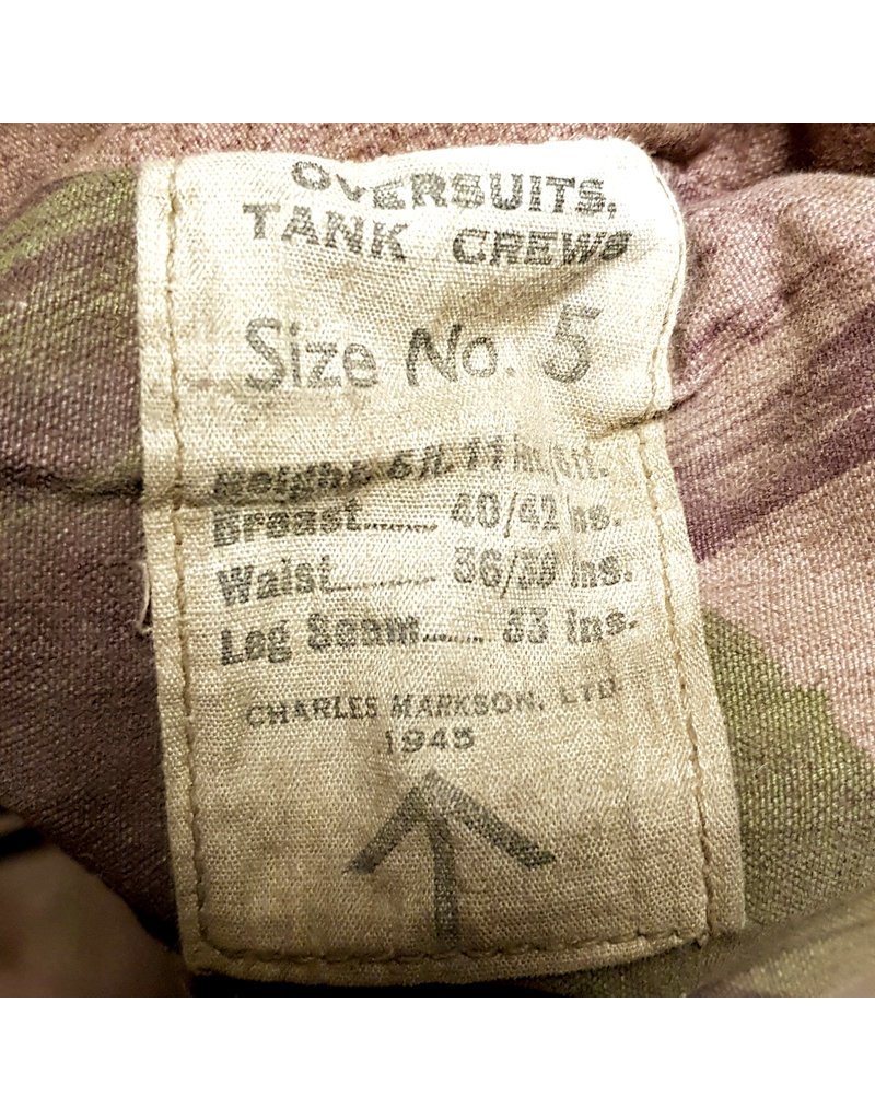 Camouflage Tanksuit