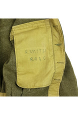 Battledress RAOC - British 2nd Division op naam R. Smith
