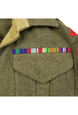 Battledress RAOC - British 2nd Division named to R Smith.