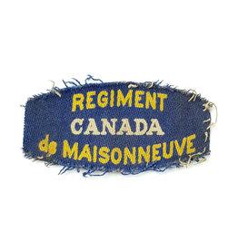 Regiment de Maisonneuve - Printed