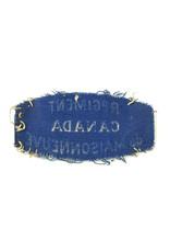 Regiment de Maisonneuve - Gedrukte Schoudertitel