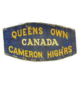 Queen's Own Cameron Highlanders- Printed