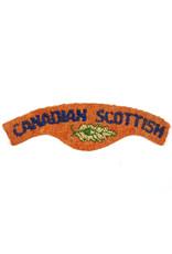 'Canadian Scottish Regiment' Shoulder Title