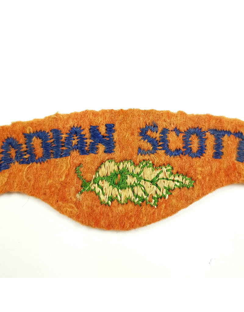 'Canadian Scottish Regiment' Schoudertitel