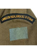 'Cameron Highlanders of Ottawa' Battledress 1941