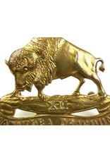 'XII Manitoba Dragoons' Cap Badge