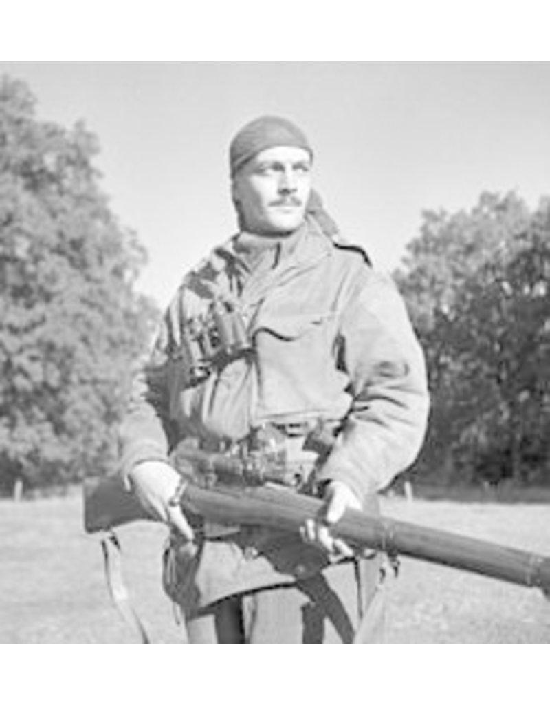 WW2 Britse/Canadese Camouflage Net