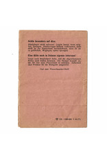 Panzerfaust Instructie Pamflet