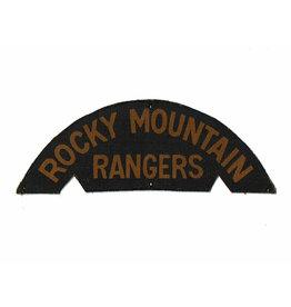Rocky Mountain Rangers - Gedrukt