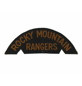 Rocky Mountain Rangers- Printed
