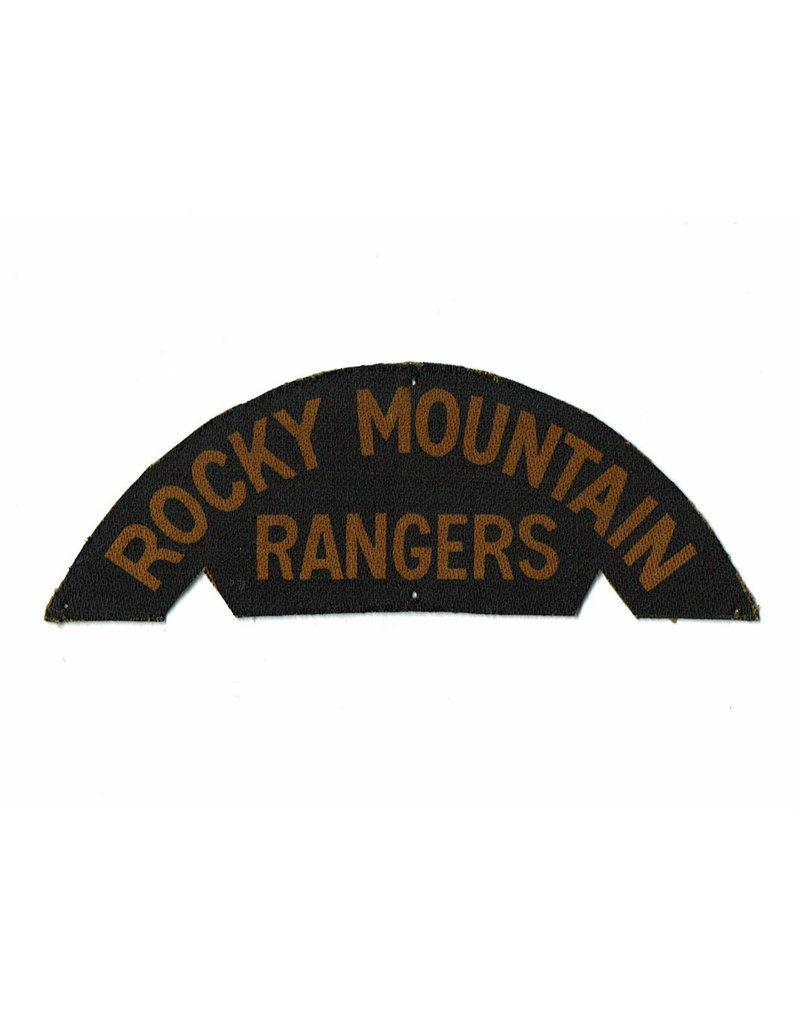Rocky Mountain Rangers - Printed Shoulder Title