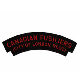 Canadian Fusiliers-City of London Regt. - Gedrukt