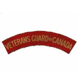 Veterans Guard of Canada - Gedrukt