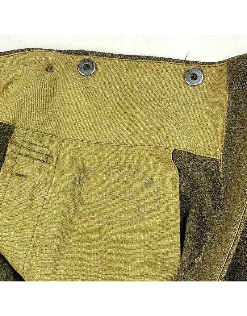 Canadian WW2 RCE Uniform Group
