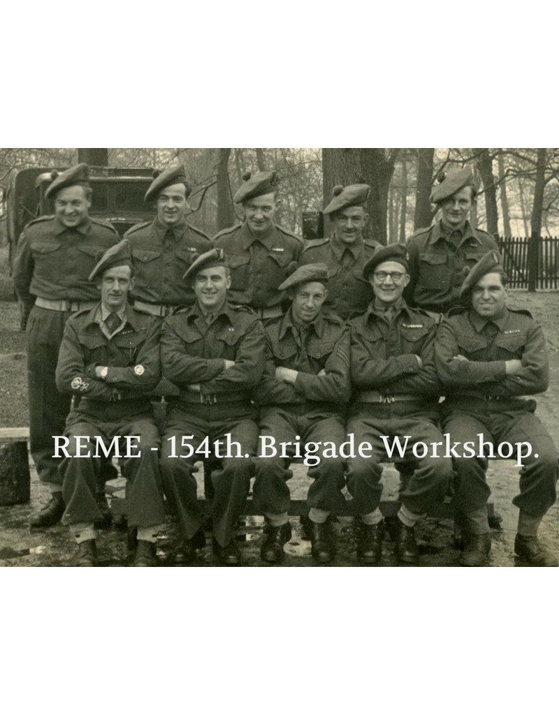 British REME Tam O' Shanter - 51 HD Bde.