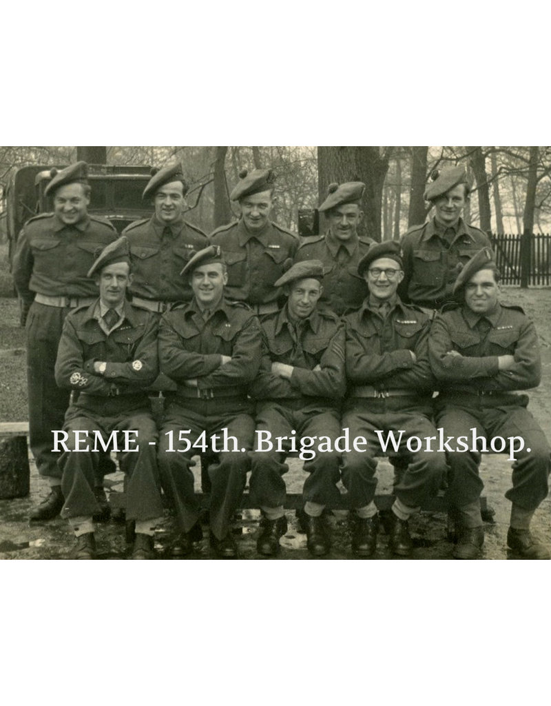 Britse REME Tam O' Shanter - 51 HD Bde.