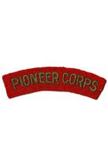 Pioniers Corps - Embleem