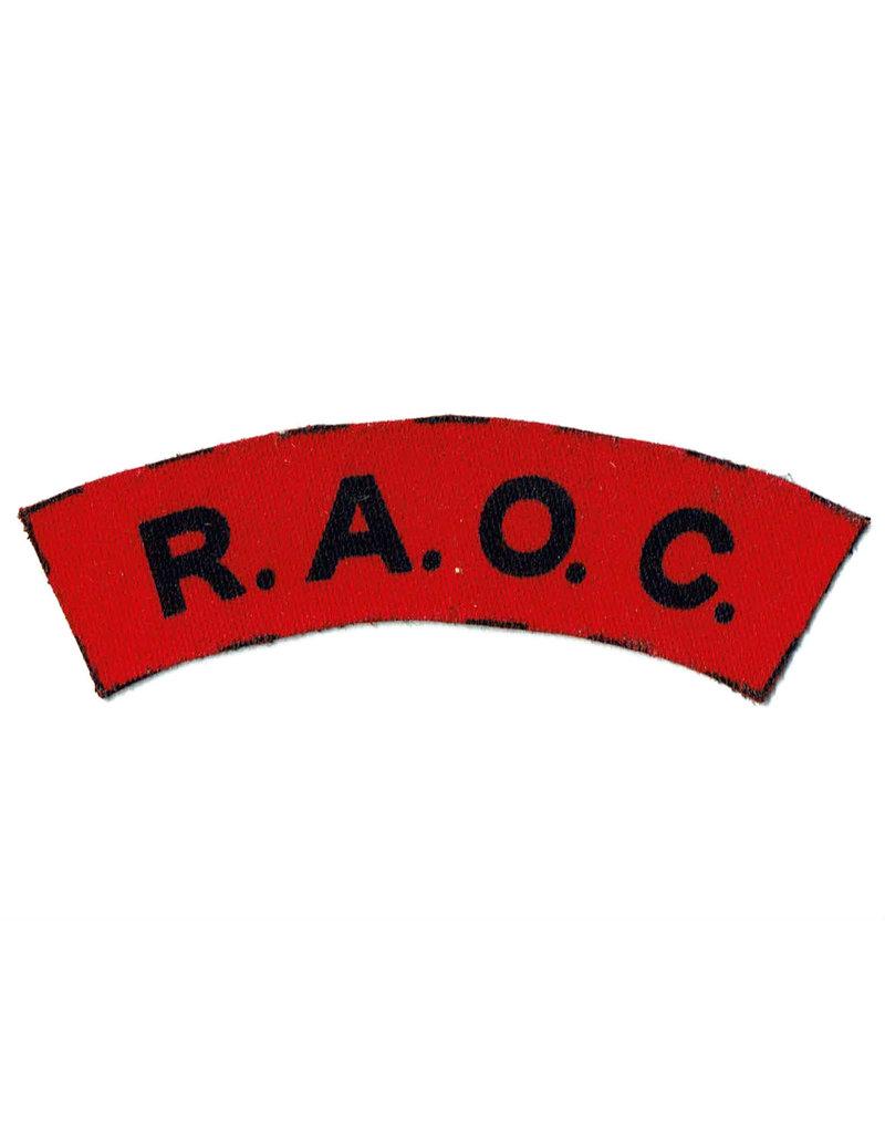 Royal Army Ordnance Corps - Embleem