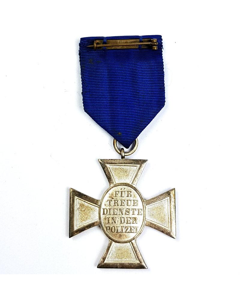 Duitse Polizei Medaille - 18 Jaar Trouwe Dienst