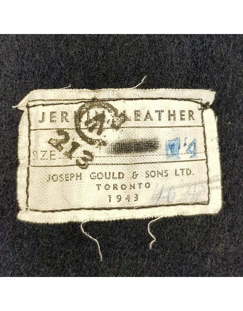 Canadian Leather Jerkin 1943