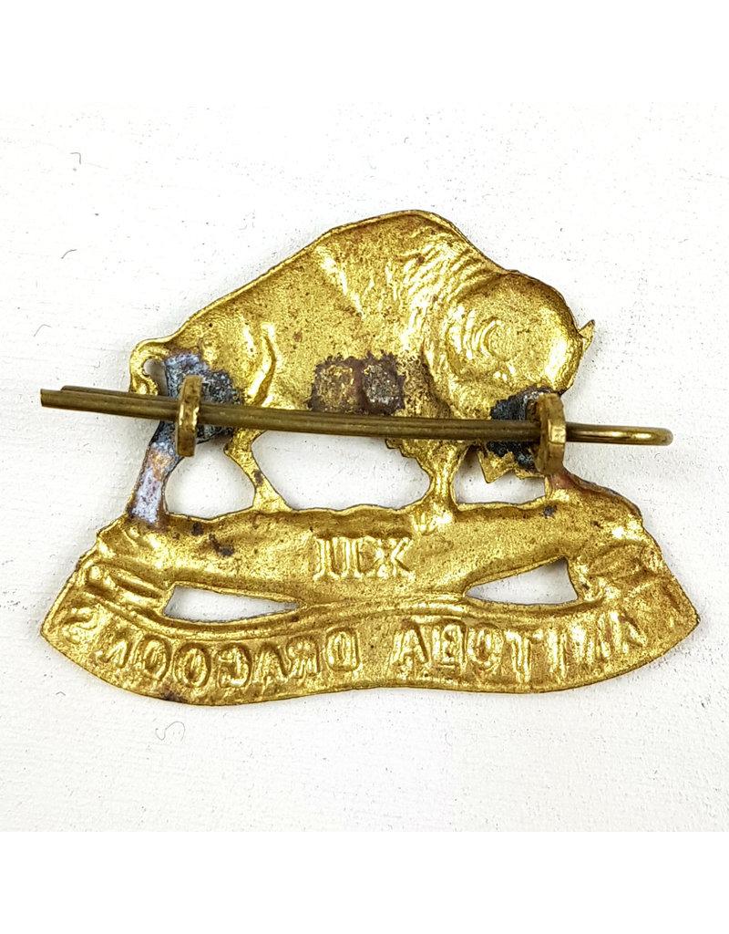 XII Manitoba Dragoons  Baret Embleem