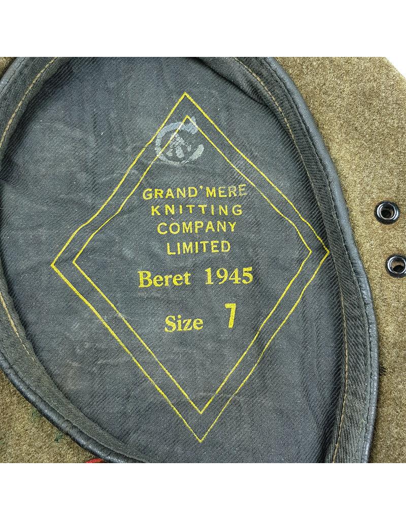 49th Loyal Edmonton Regt Baret 1945