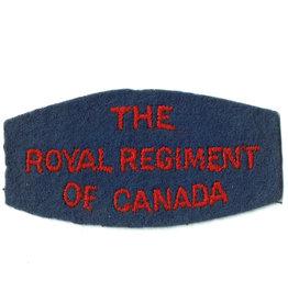 RR of Canada Titel