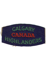 Calgary Highlanders of Canada - Shoulder Flash