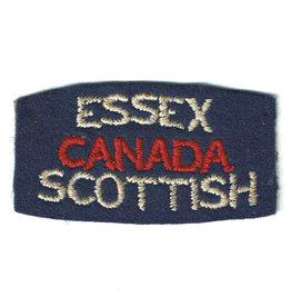Essex Scottish  Regt. Flash