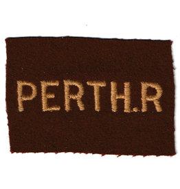 Perth Regiment Divisie Embleem